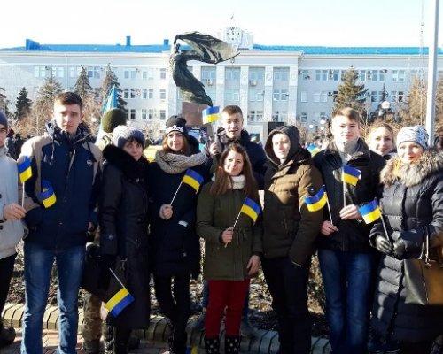 Участь учнів, студентів та педагогічних працівників Бердянського економіко-гуманітарного коледжу у Акції  національної єдності